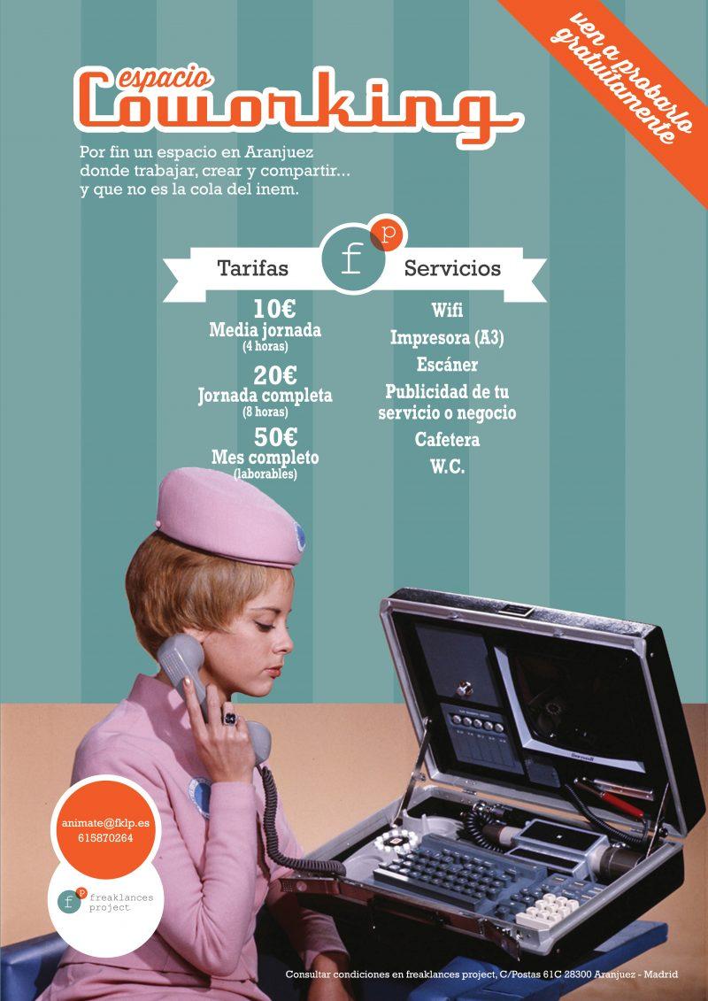 Espacio Coworking > Tarifas y Servicios