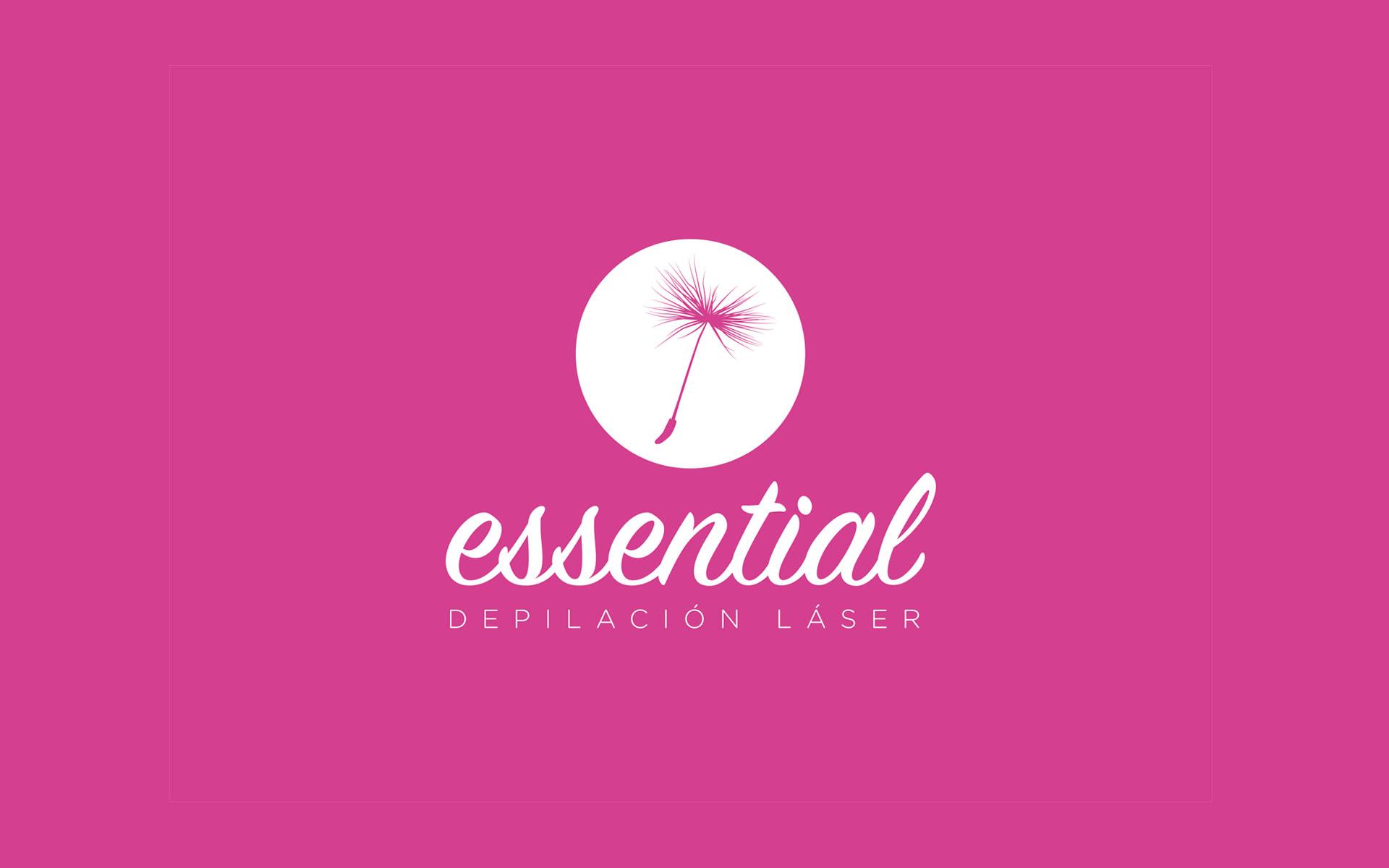Logotipo Essential Depilación