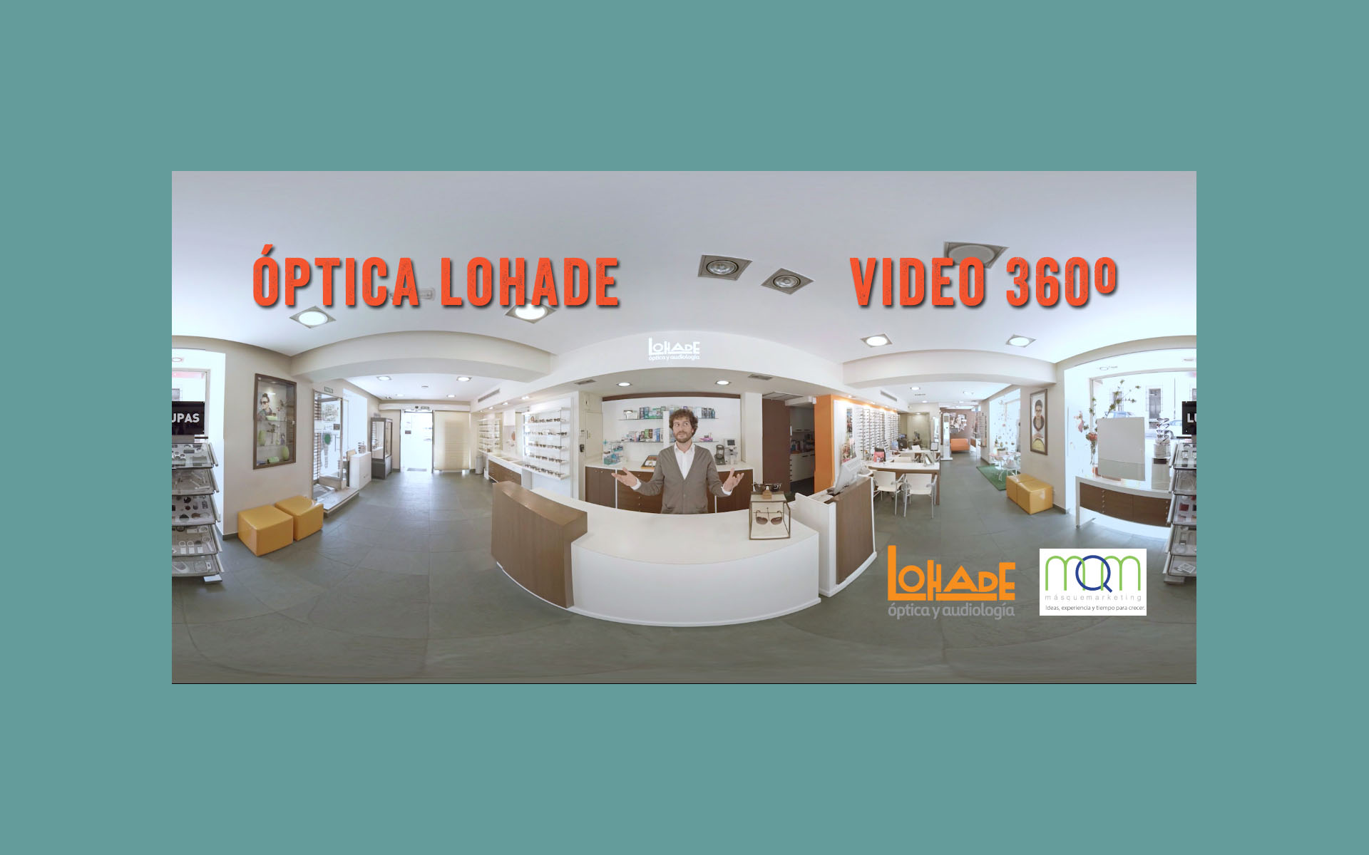 Video 360 grados para la campaña de marketing de Lohade