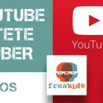 Curso Freakids de Jóvenes Youtubers en freaklances project. Conviértete en realizador y crea tu propio canal.