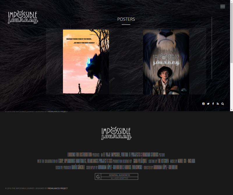 the impossible journey posters