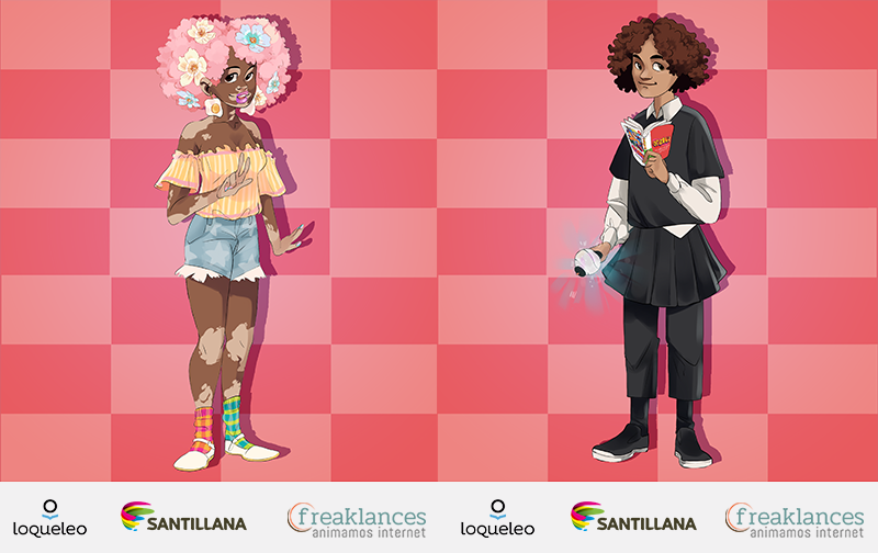 Avatares loqueleo de Santillana serie Roja