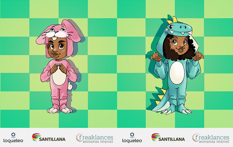 Avatares loqueleo de Santillana serie Verde