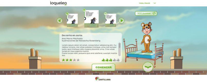 Plataforma de comprensión lectora