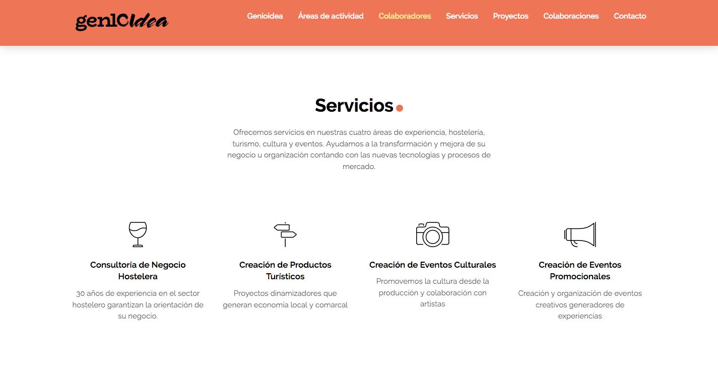 Diseño Web Genioidea
