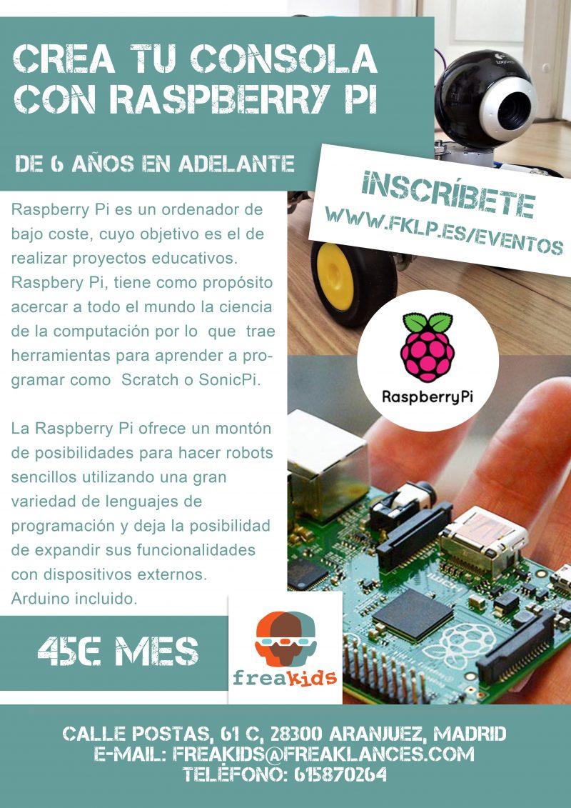 Crea tu consola de Videojuegos con Raspberry Pi