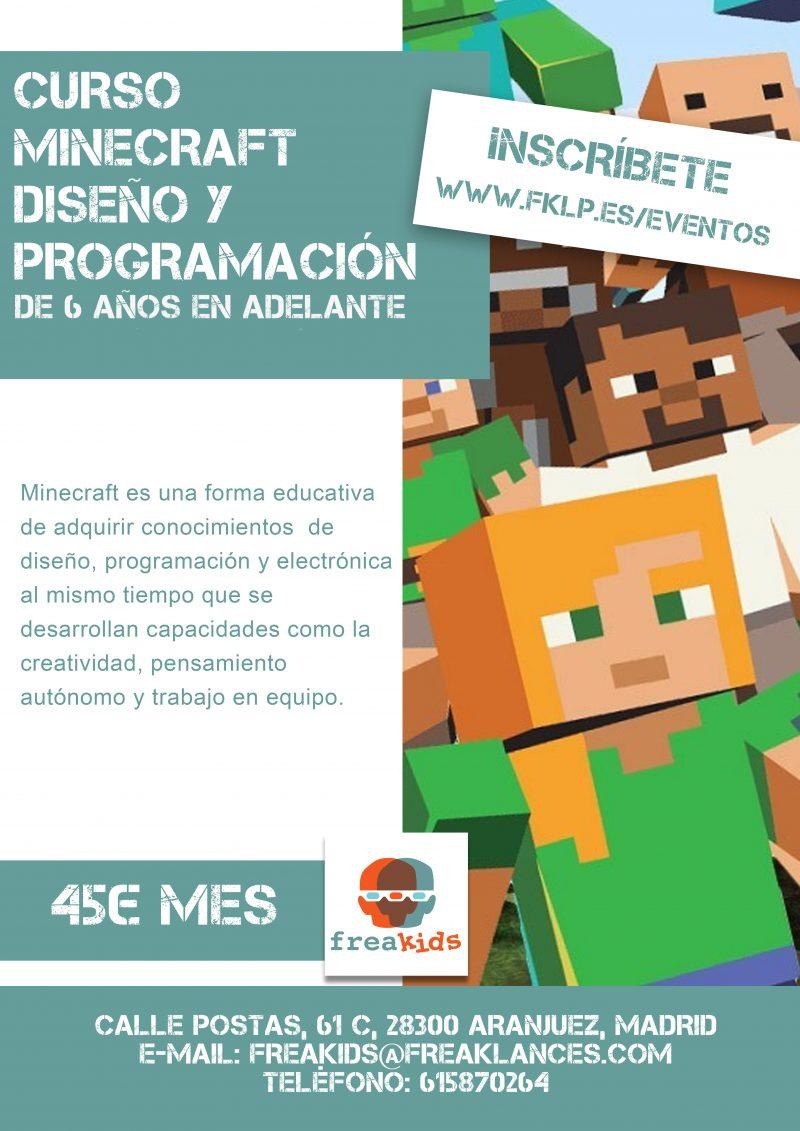 Curso Minecraft de Diseño y Programación 2019