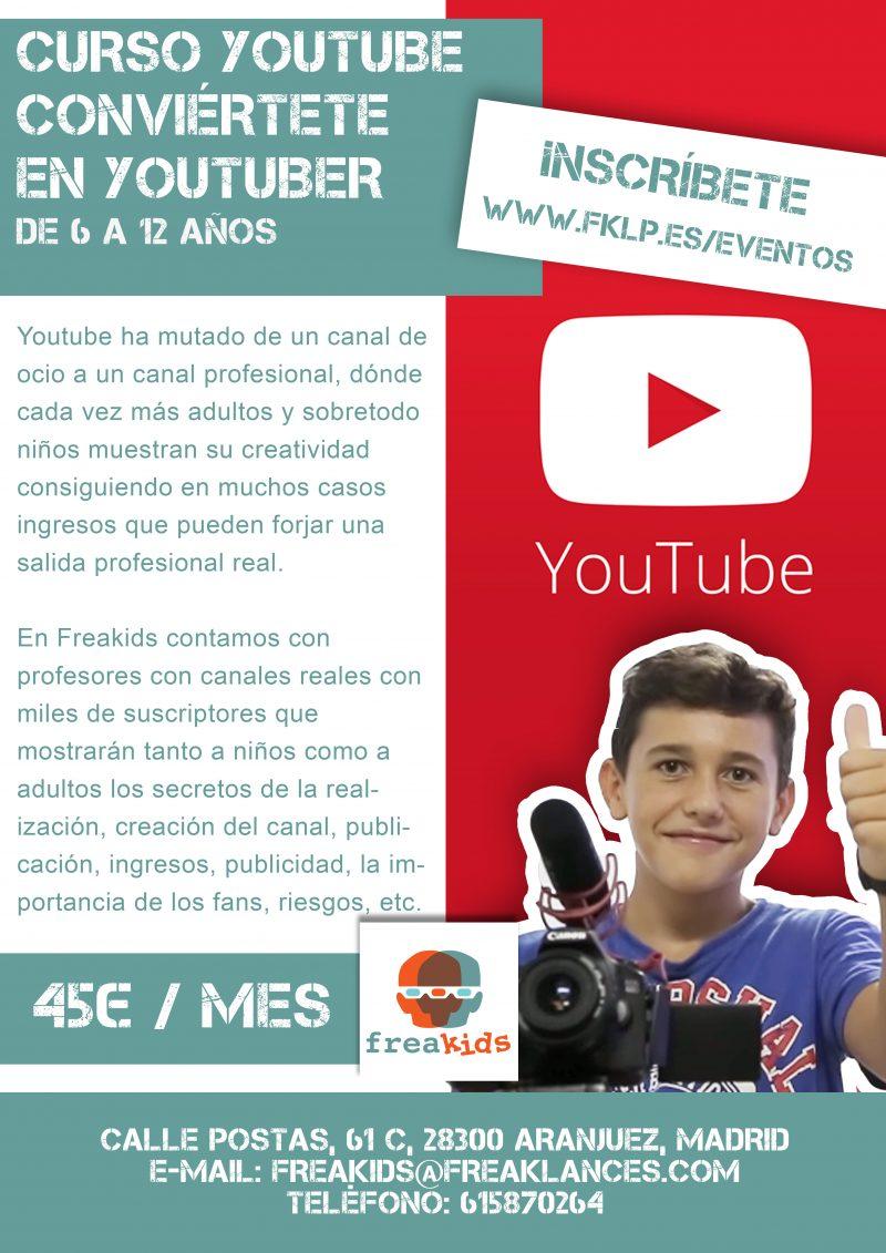 Curso de grabación y edición de vídeo en youtube, conviértete en youtuber