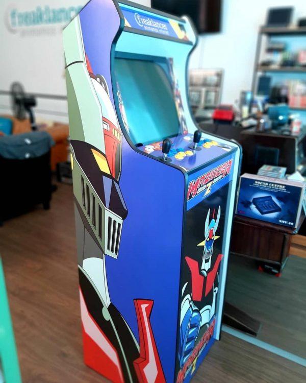Arcade de 175 cm de alto con Armario incorporado