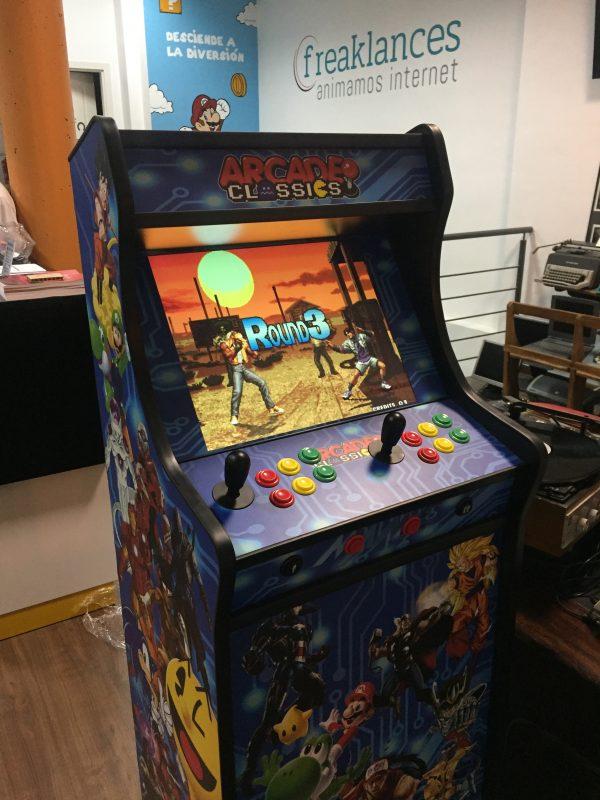 Arcade Pequeña de 150 cm con pantalla de 19 pulgadas