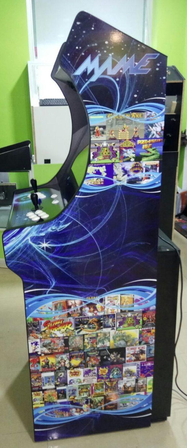 Máquina Arcade Retro con Frigorífico