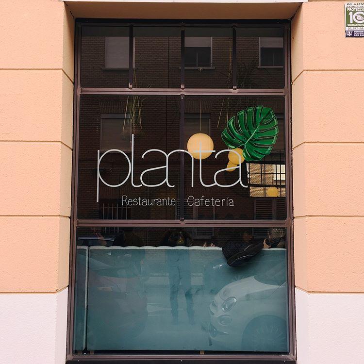 Ilustración para el restaurante Planta
