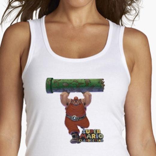 Camiseta Mario Bros Clandestina
