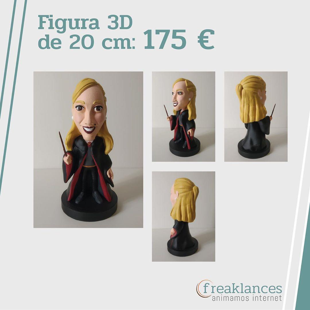 Modelado 3D personalizado fan Harry Potter