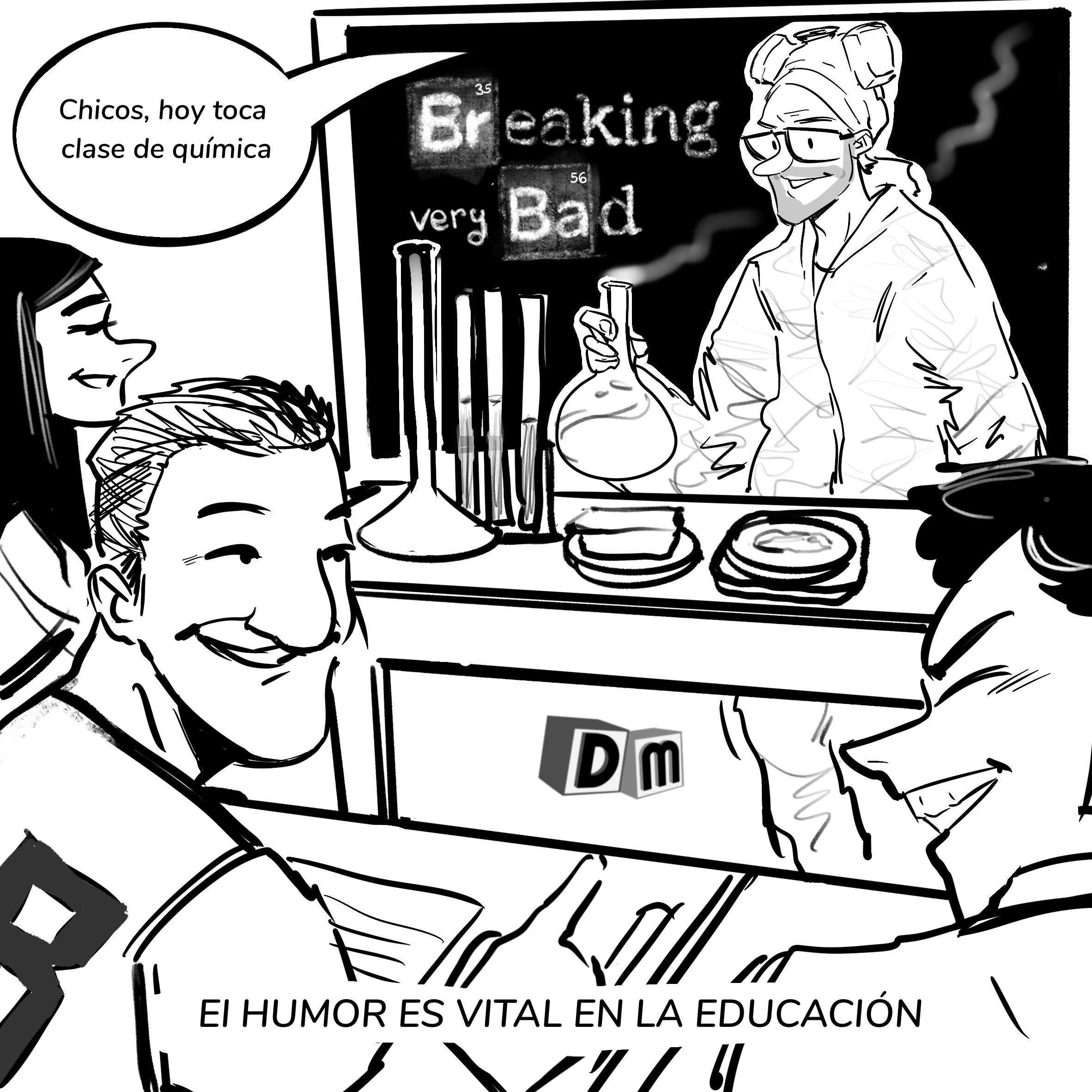 David Mora_Viñeta 4_El humor es vital en la educación