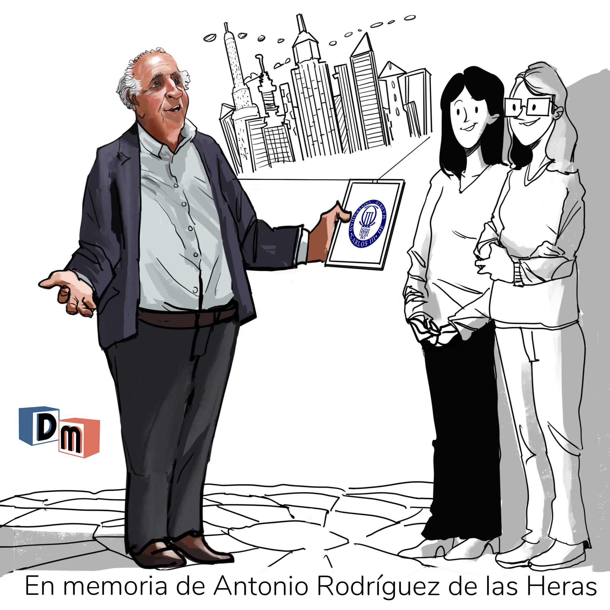 David Mora_Viñeta 12_En memoria de Antonio Rodriguez de las Heras