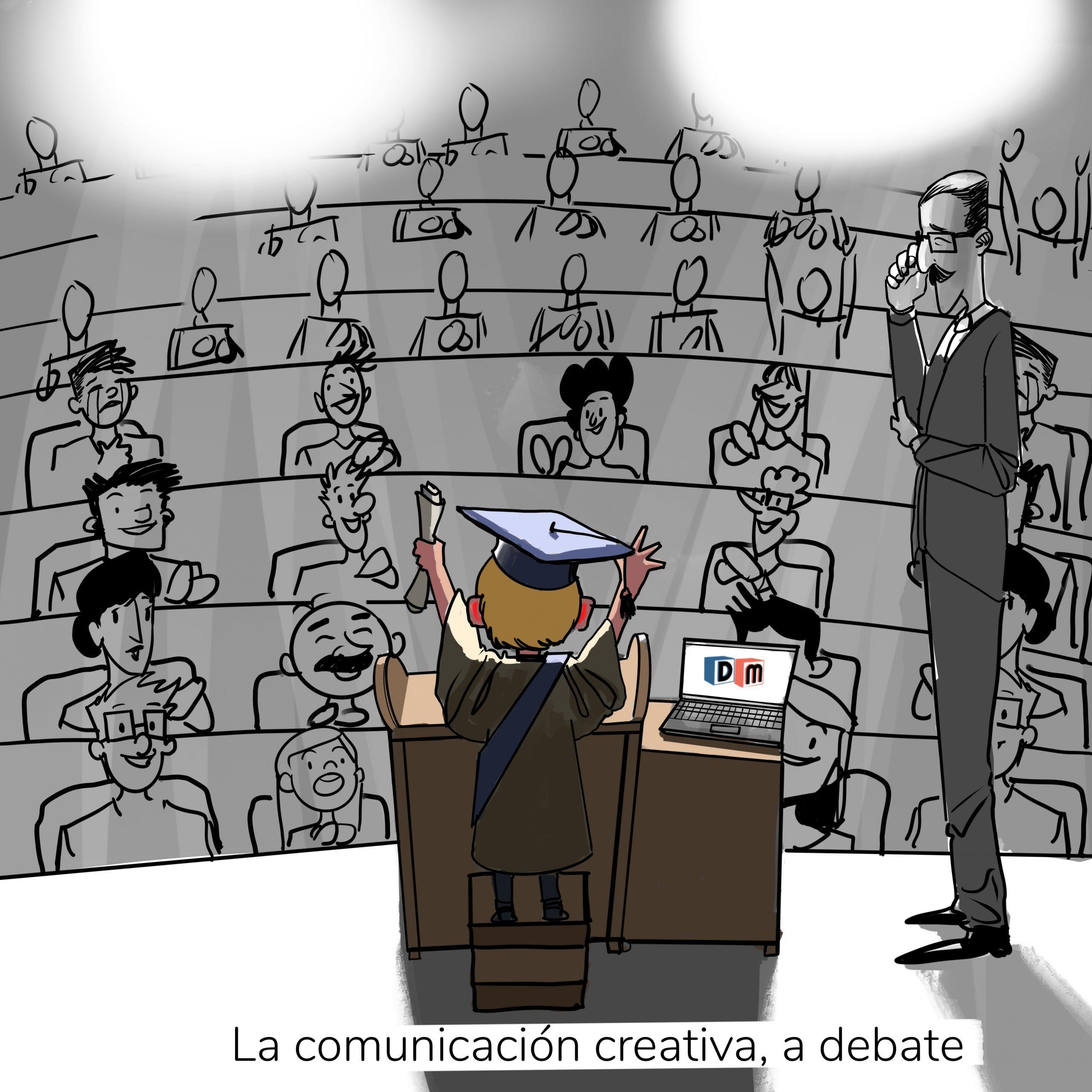 David Mora_Viñeta 16_La comunicación creativa a debate