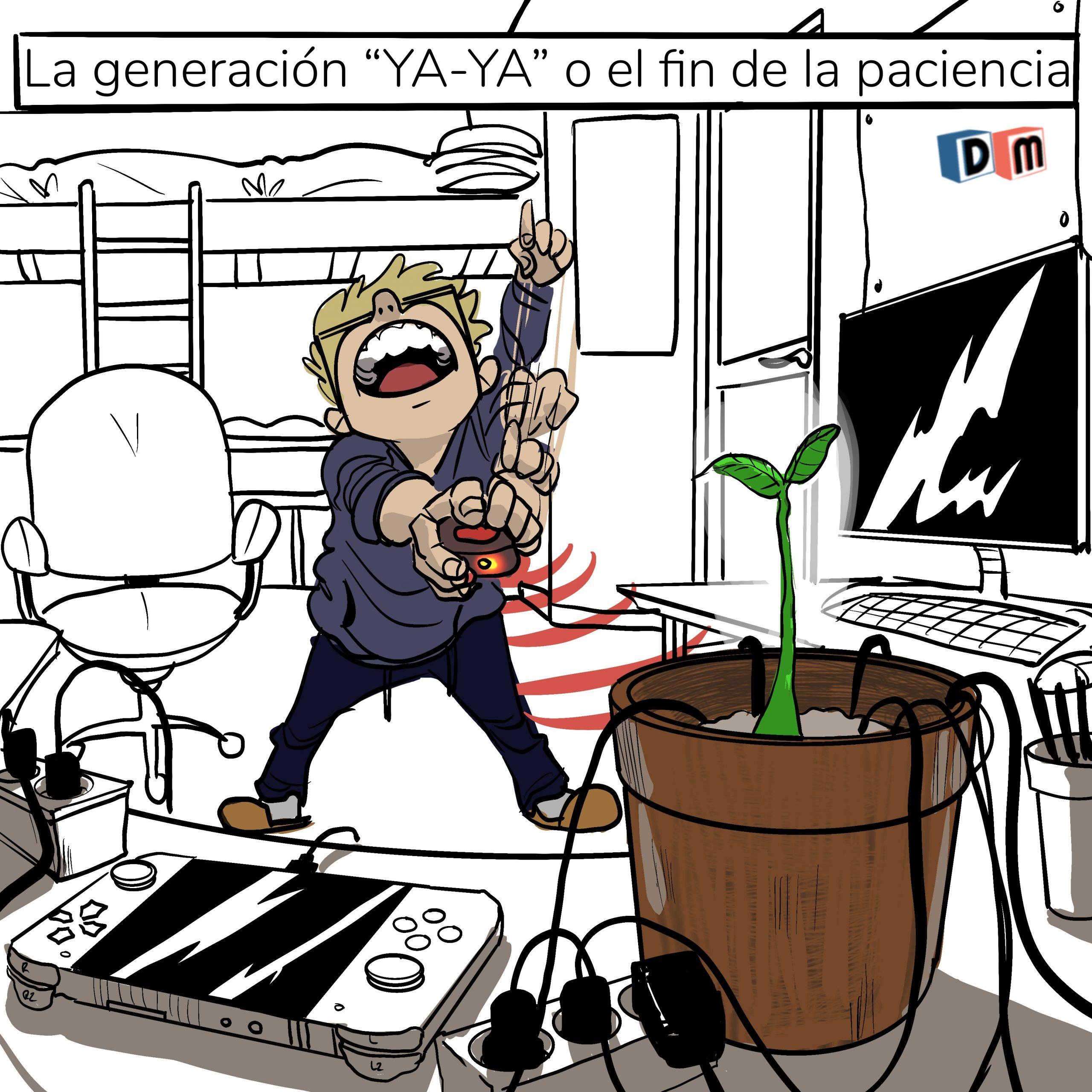 David Mora_Viñeta 32_La generación