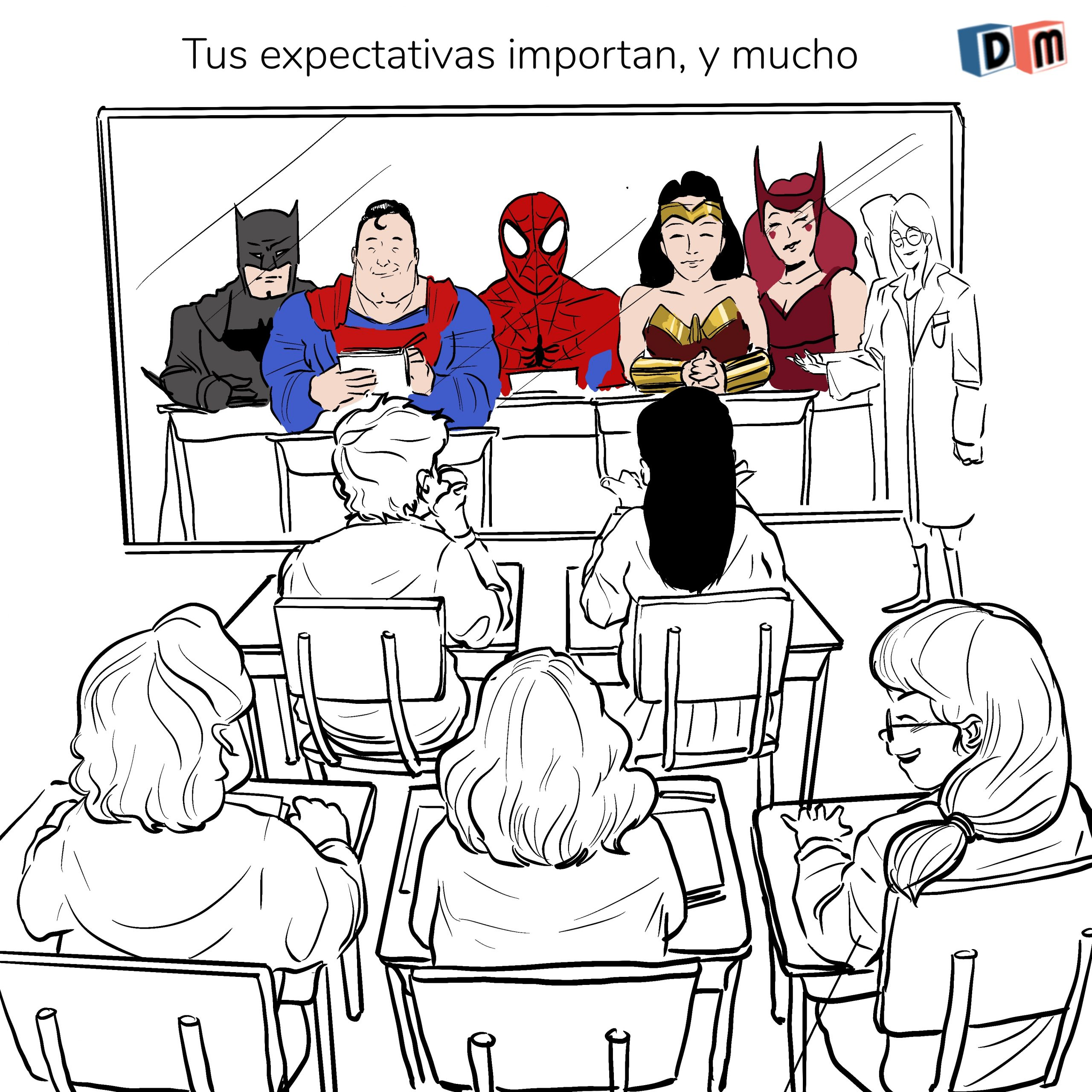 David Mora_Viñeta 34_Tus expectativas importan, y mucho