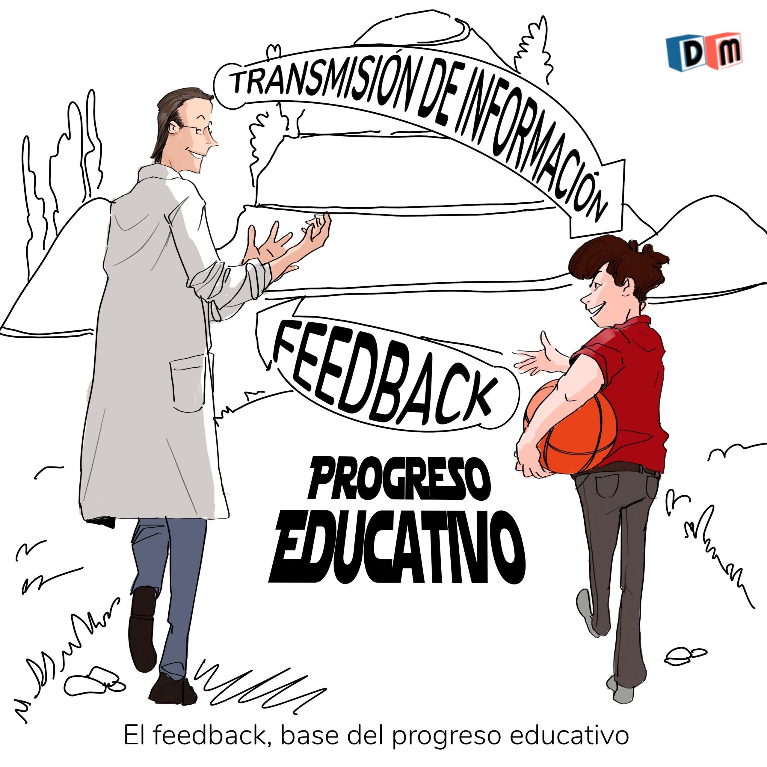 David Mora_Viñeta 36_El feedback, base del progreso educativo