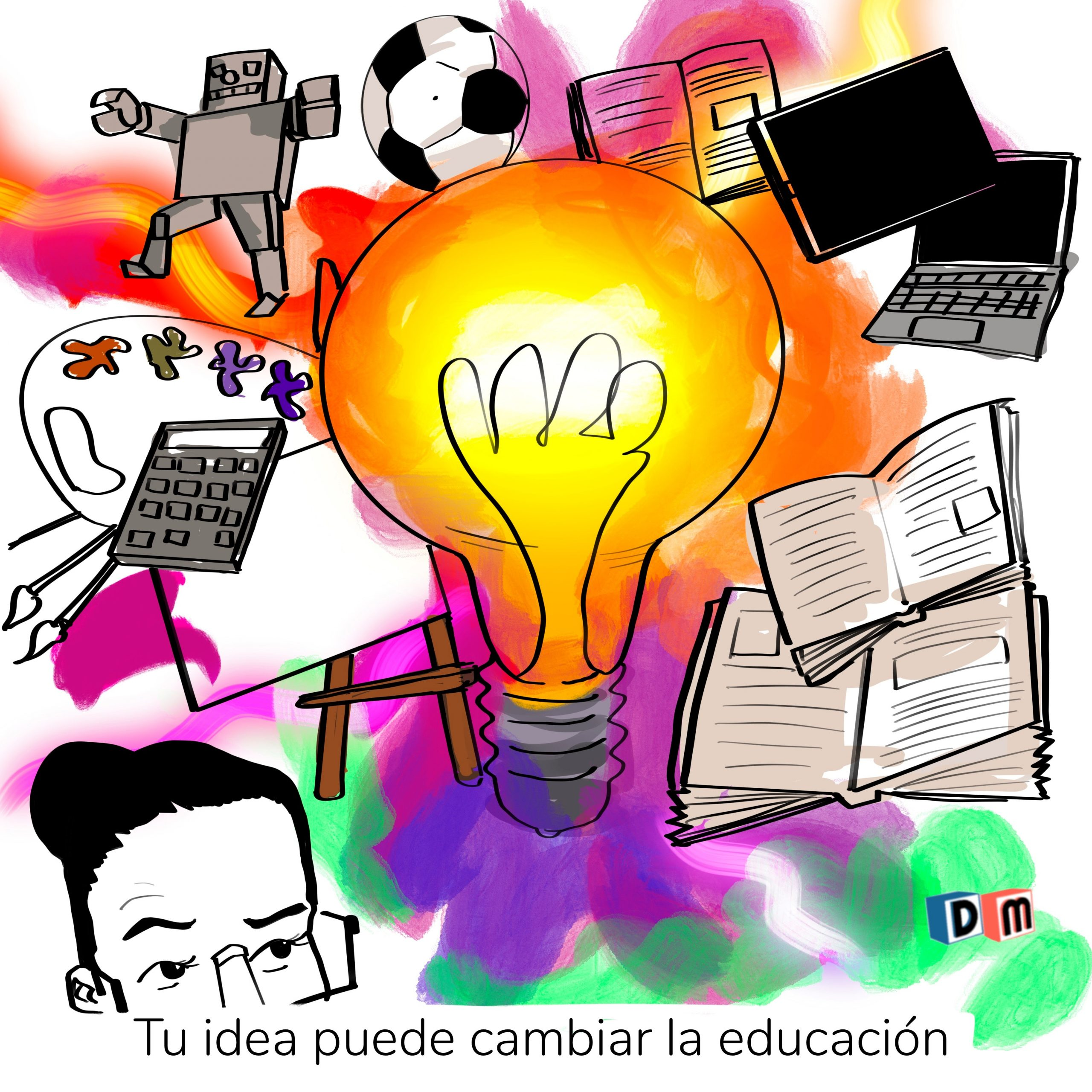 David Mora_Viñeta 36_Tu idea puede cambiar la educación