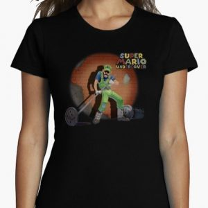 Diseño Gráfico camiseta Luigi
