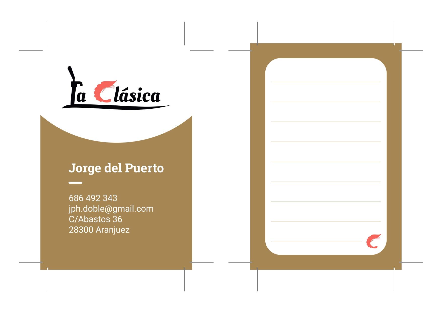 Tarjeta Logotipo La Clásica