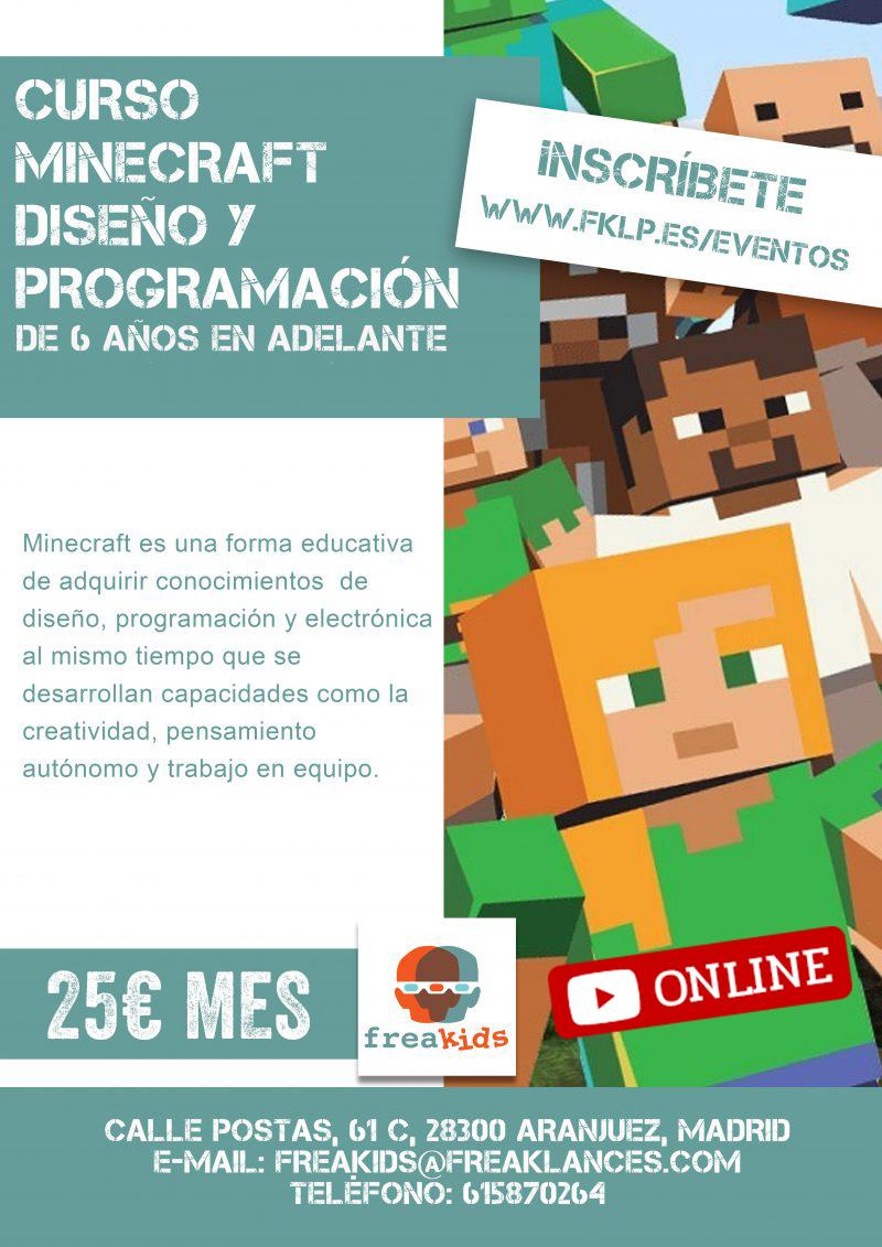 Curso Online Minecraft de Diseño y Programación 2019
