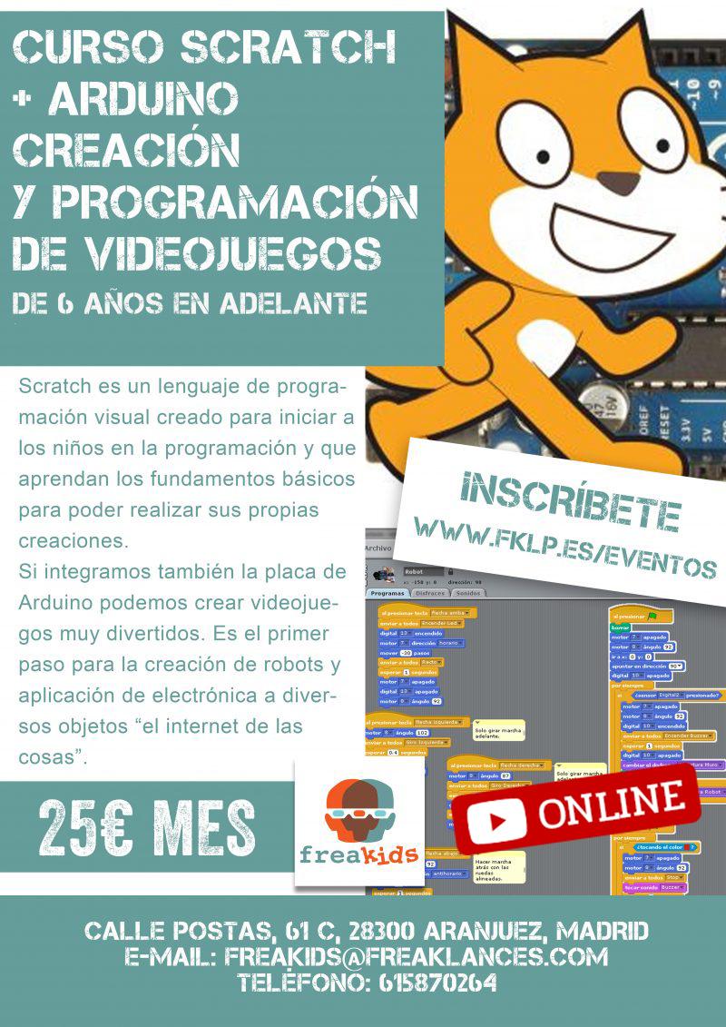Curso Online Scratch y Arduino de Robótica