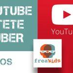 Curso Online Freakids de Jóvenes Youtubers en freaklances project. Conviértete en realizador y crea tu propio canal