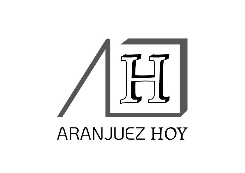 Isotipo escala de grises Aranjuez Hoy