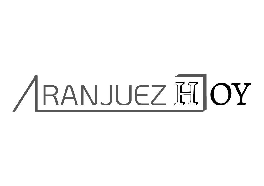 Logotipo escala de grises Aranjuez Hoy