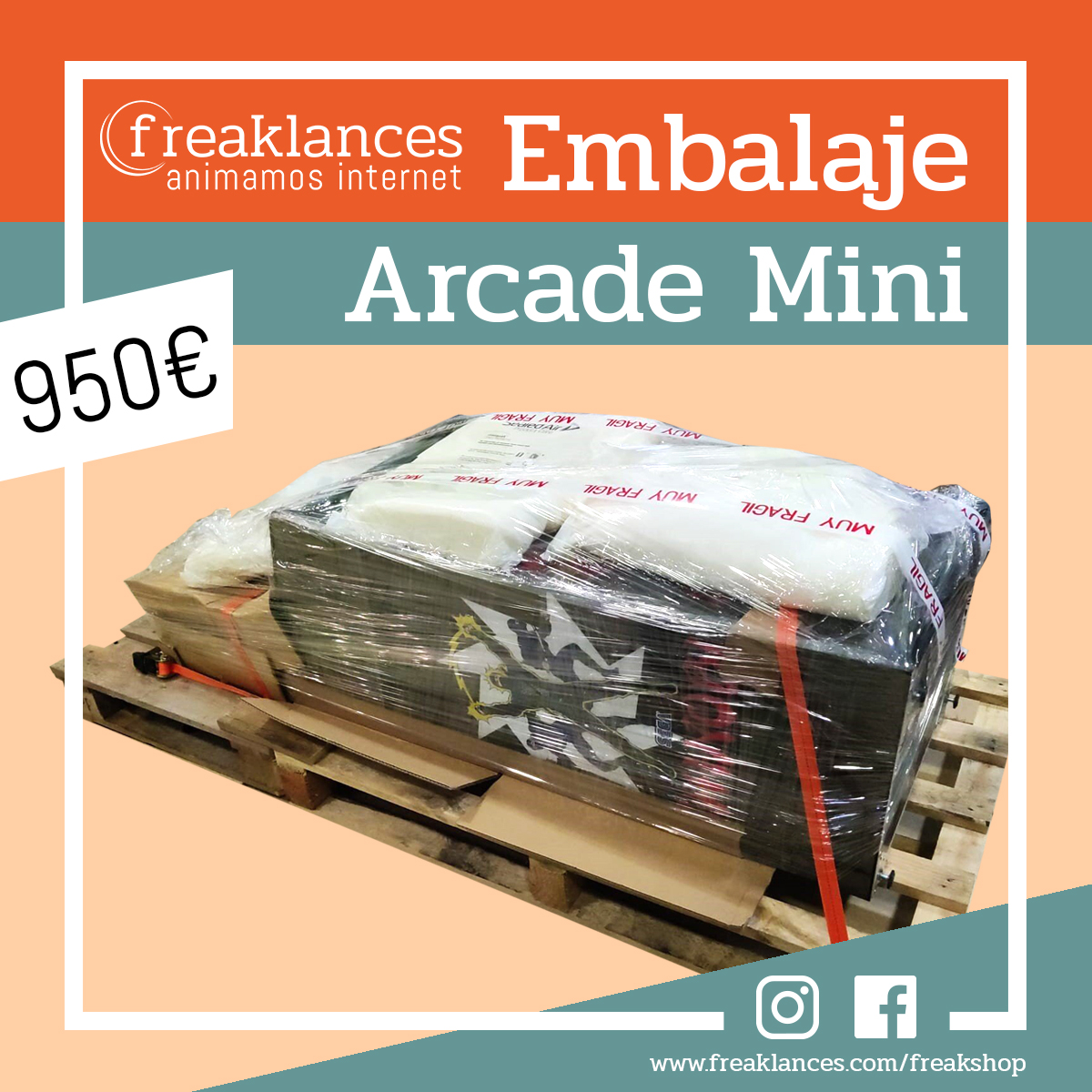 Embalaje Arcade Mini Shinobi