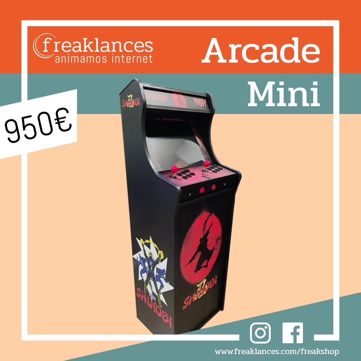 Arcade Mini Shinobi 2