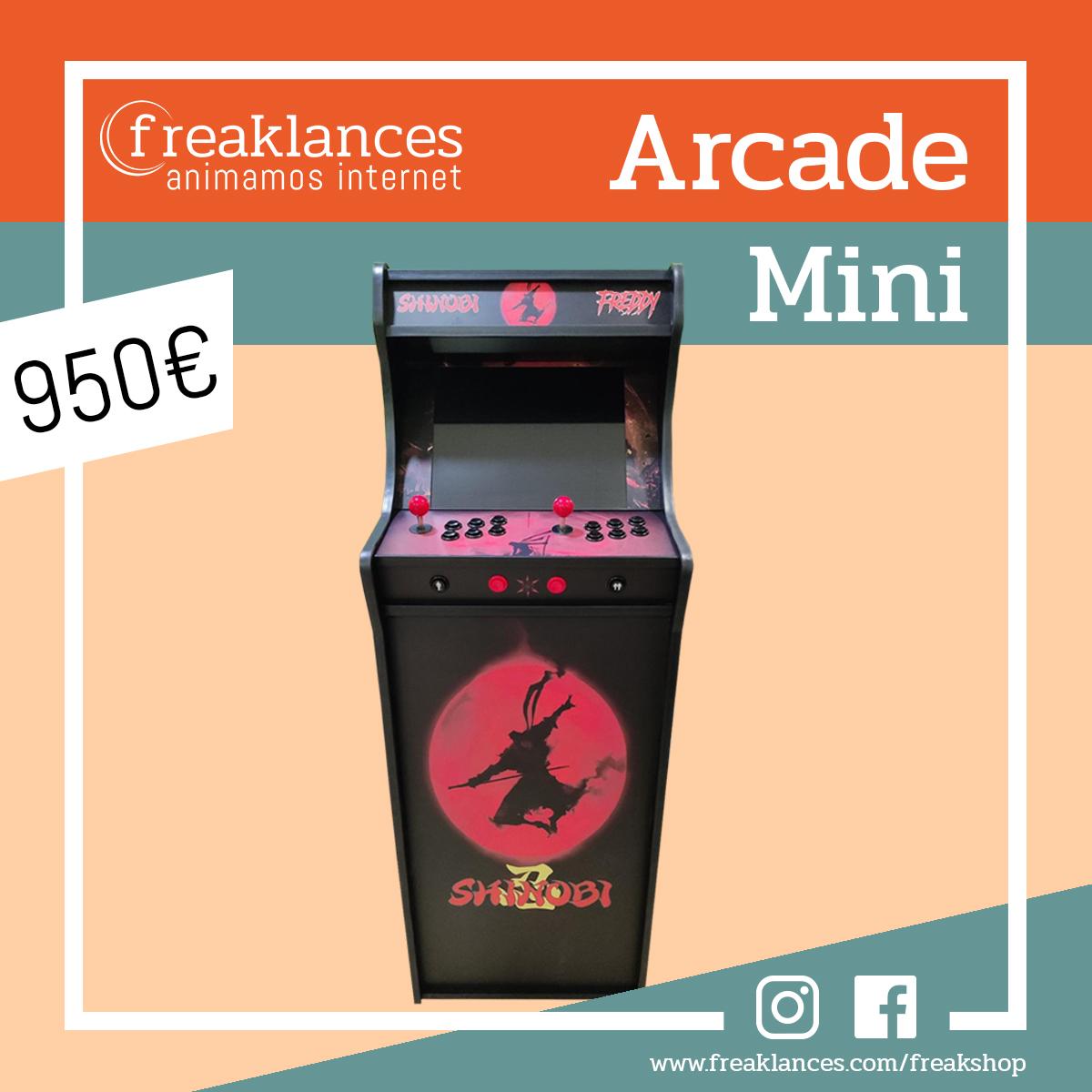Arcade Mini Shinobi 1