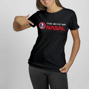 Camiseta negra Misión Olfativa Nasal D3