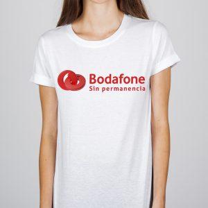 Camiseta Bodafone sin permanencia D2