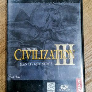 CIVILIZATION III edición coleccionista